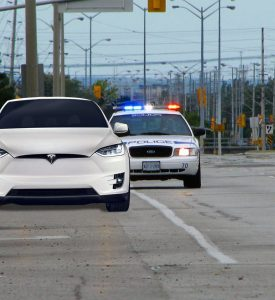 Stress-Free driving in your Tesla Model X – don't get pulled over for not having a front license plate!