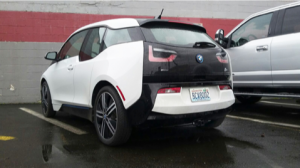 How to haul bike racks with your BMW i3!