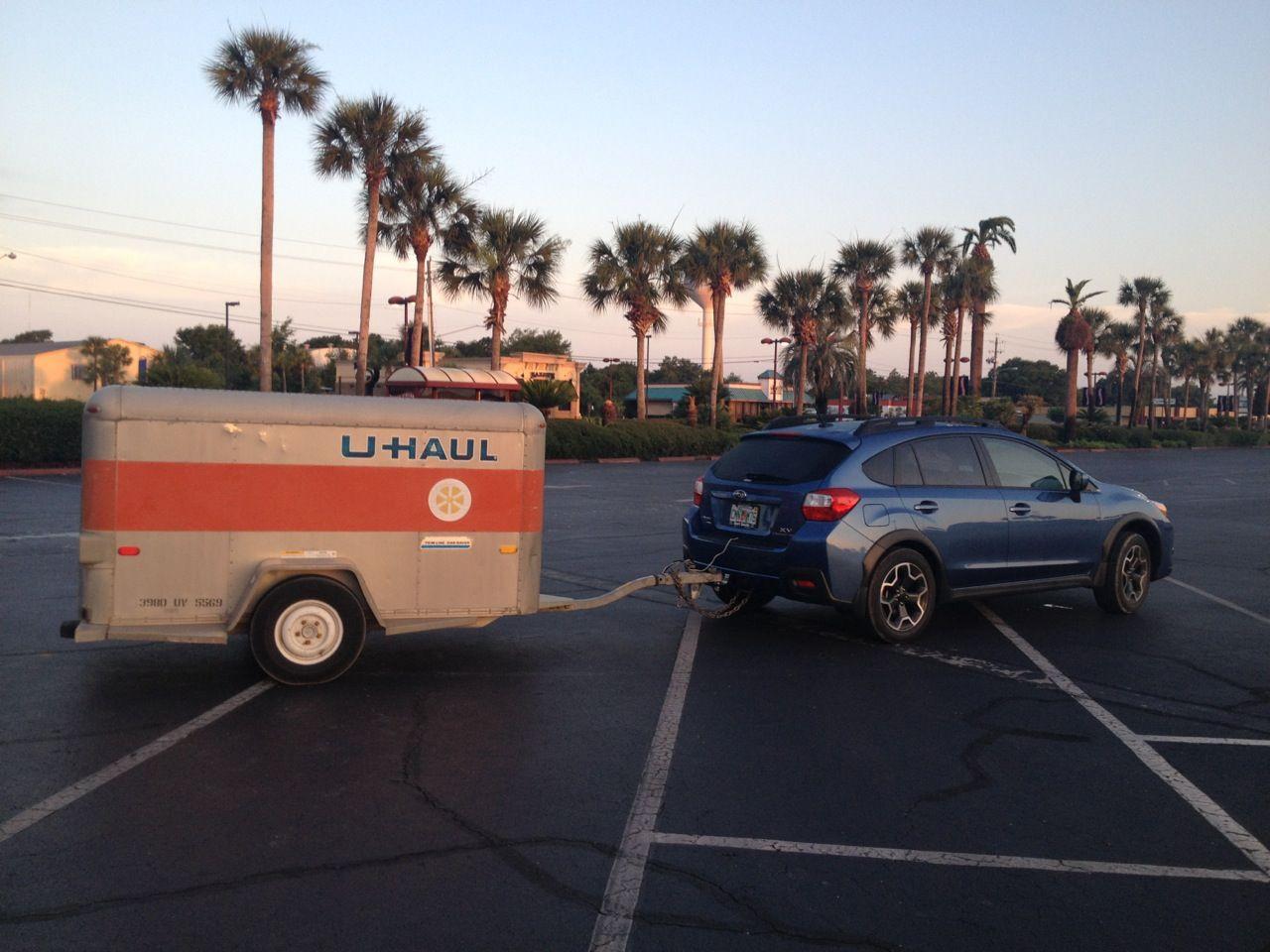 Our Subaru Crosstrek Hitch In Action