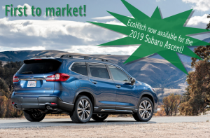 The 2019 Subaru Ascent EcoHitch is here – the perfect complement to your new dream ride!
