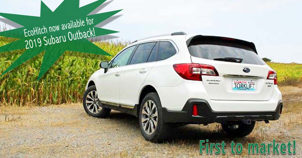 Torklift Central | The 2019 Subaru Outback EcoHitch is here