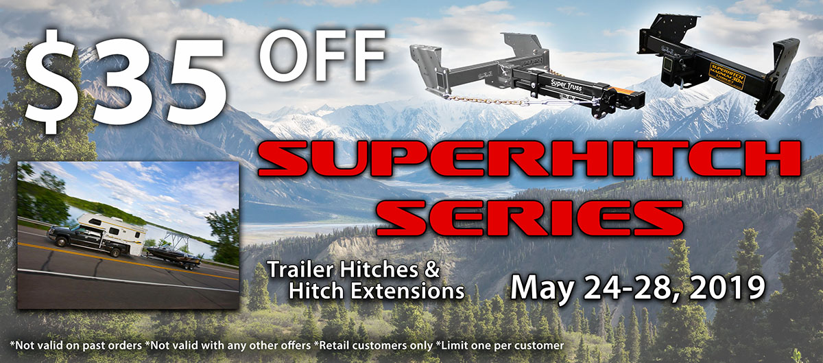Memorial Day SuperHitch and SupertTruss Sale