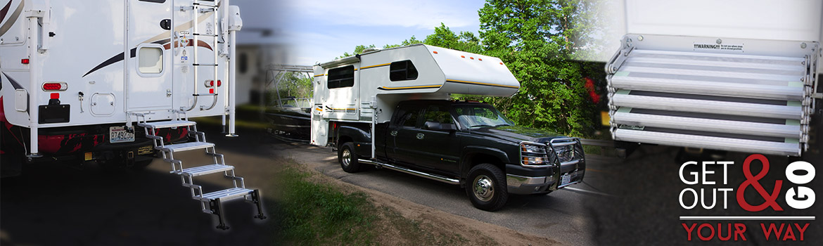 Truck Camper Step Systems