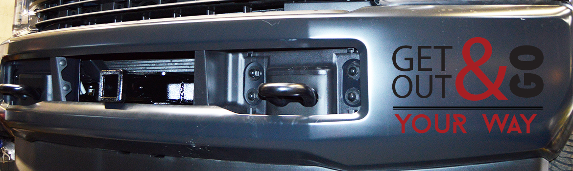 Front Mounted Receiver Hitches