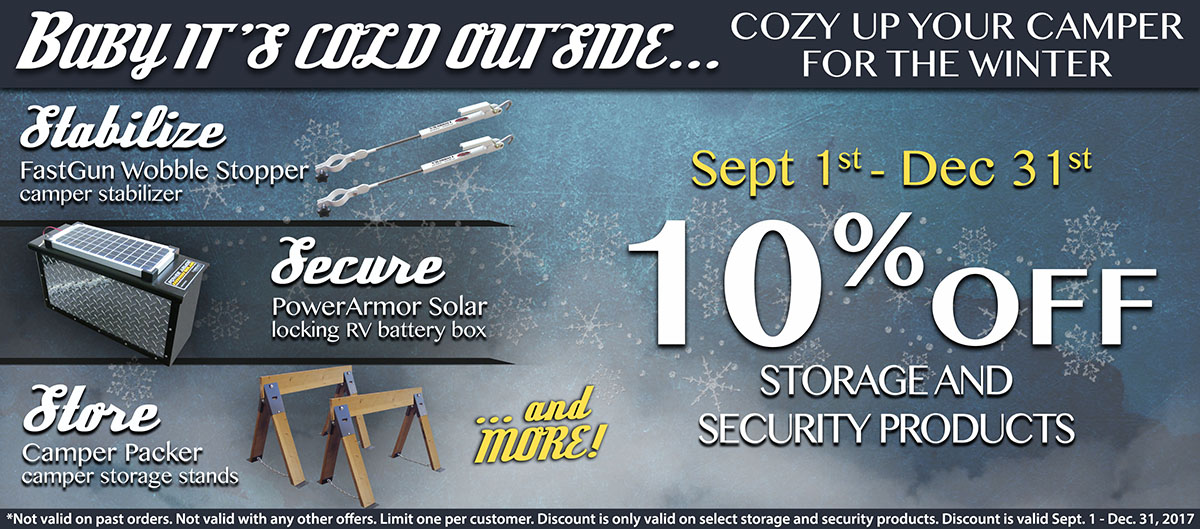 Storage and Security Sale
