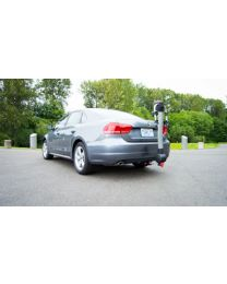 2015 Volkswagen Passat with EcoHitch and Bike Rack