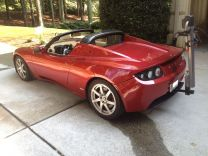 Tesla Roadster EcoHitch