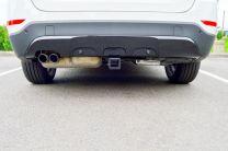 2013-2014 BMW X1 EcoHitch® Invisi