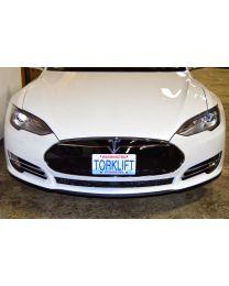 The Law - Tesla Model S Front License Plate Bracket-Aluminum (Auto Pilot Compatible) X7283