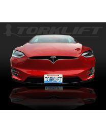 The Law - Tesla Model X Front License Plate Bracket (Auto Pilot Compatible) x7340