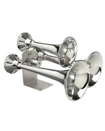METAL CHROME TRAIN HORN 152 Decibels-150 HZ