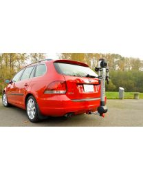 2010+ Volkswagen Jetta SportWagen with EcoHitch and Bike Rack