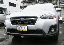 The Law - Subaru Crosstrek Front License Plate Bracket XA1011