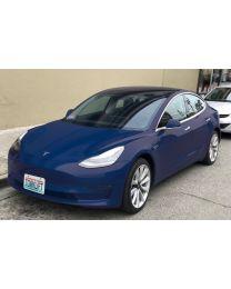 The Law - Tesla Model 3 Front License Plate Bracket (Auto Pilot Compatible) XA1004