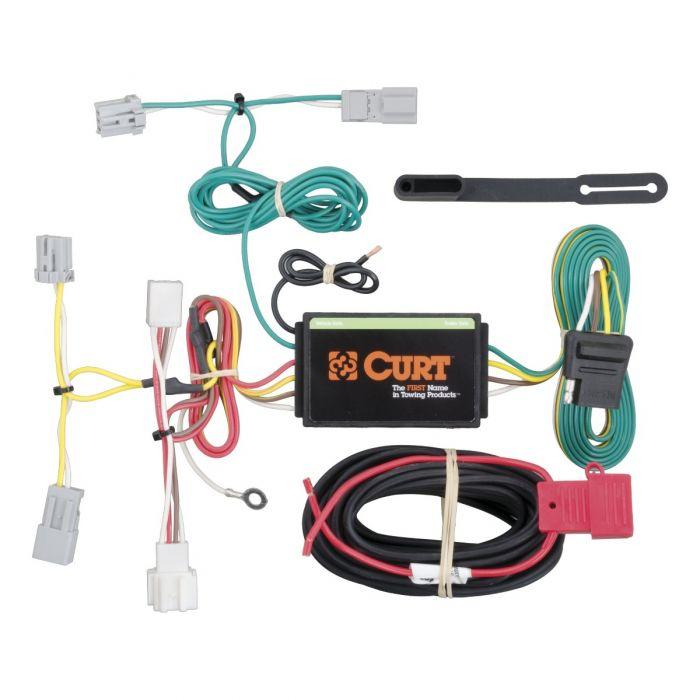 curt t one connector honda civic sedan 56219  honda civic trailer wiring harness #9