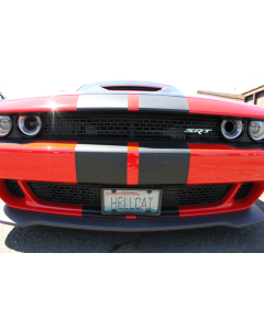 The Law - Dodge Hellcat Front License Plate Bracket XA1005