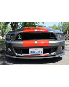 The Law - Ford Mustang Shelby GT500 Front License Plate Bracket XA1007