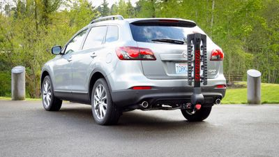 2017 Mazda Cx 9 Ecohitch With Bike Rack