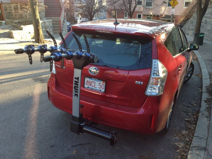 toyota prius towing hitch