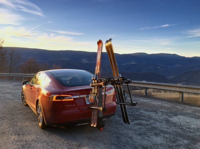 Tesla model s tow hitch