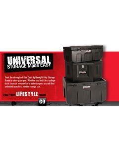 Deezee Lightweight Poly Storage Boxes