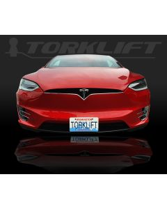 The Law - Tesla Model X Front License Plate Bracket (Auto Pilot Compatible) x7340
