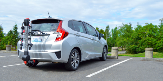 The 2016 Honda Fit EcoHitch is here. Avid bikers rejoice, your car is even more practical!