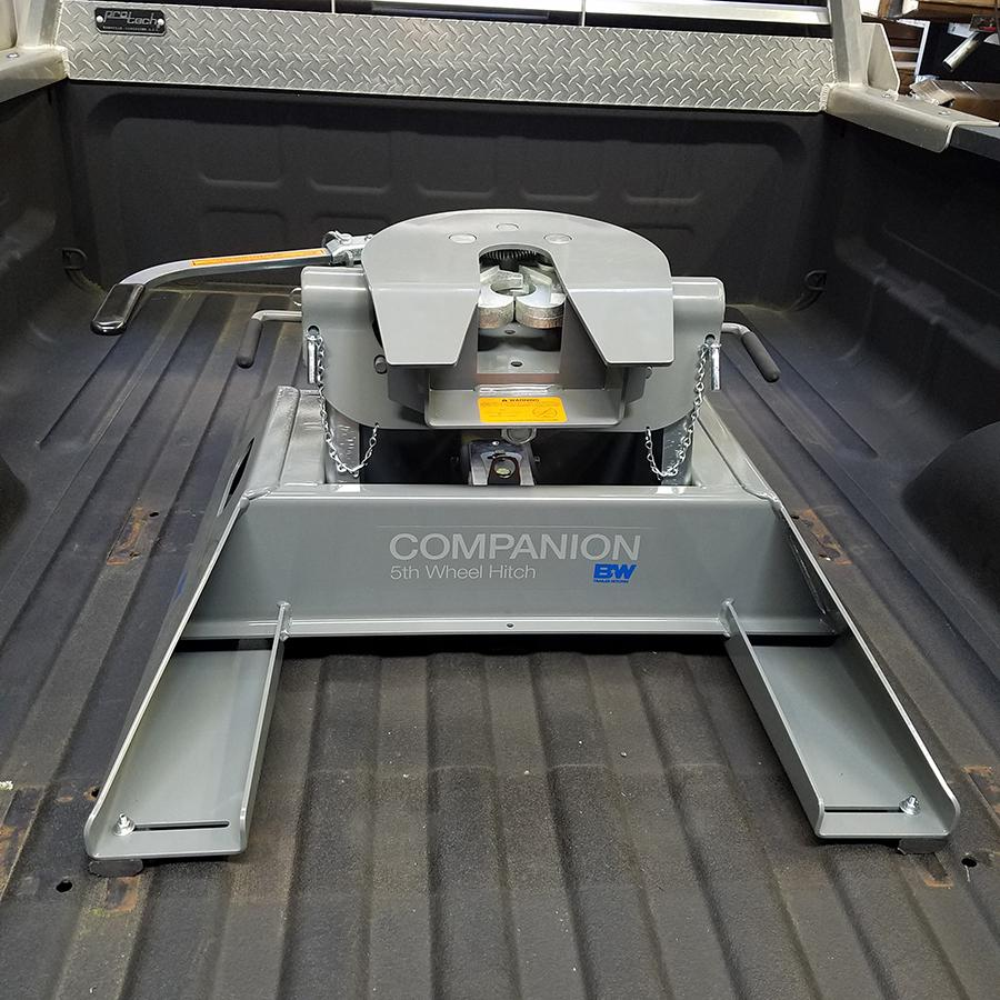 Want a Gooseneck hitch and a 5th wheel hitch?
