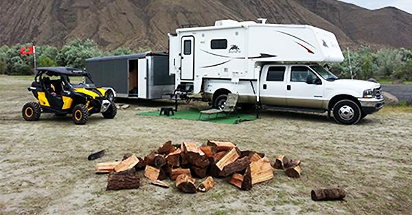 Torklift customer Jim Weber reveals his preferred camper tie down system