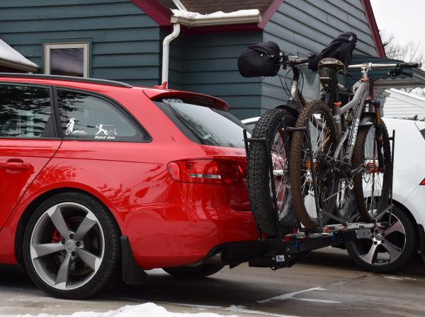 The Audi A4 EcoHitch is the perfect trailer hitch upgrade!