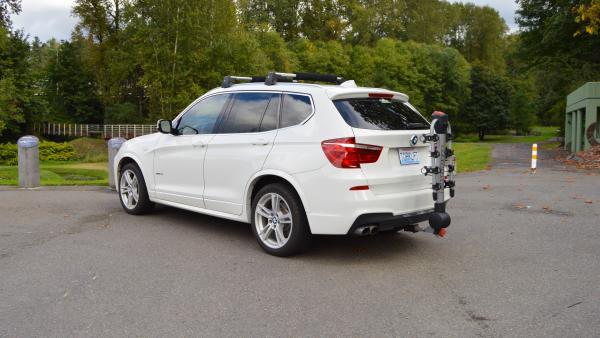 The 2013-2016 BMW X3 EcoHitch now fits 2017 BMW X3!