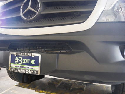 NEW! The 2016 Mercedes Sprinter Van Front Receiver EcoHitch is here!