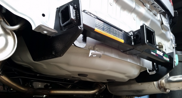 Check out this 2015 Subaru WRX EcoHitch installation!