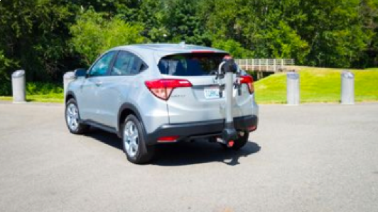 The 2017 Honda HR-V EcoHitch is here. Bikers and adventure seekers rejoice!
