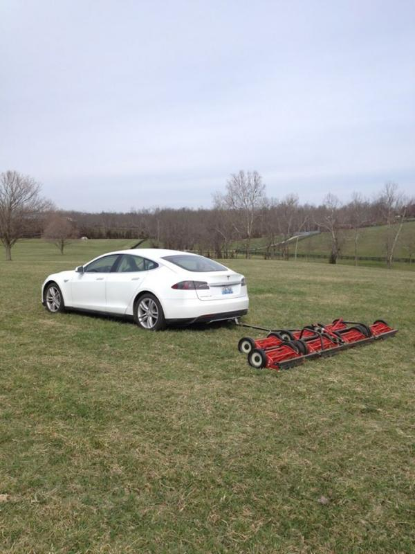 Who Needs a Tesla Lawn Mower?