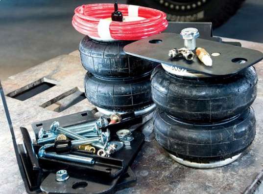 Have you ever had to troubleshoot a leak in your suspension airbags?