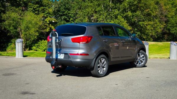 The 2015 Kia Sportage EcoHitch is making an entrance!