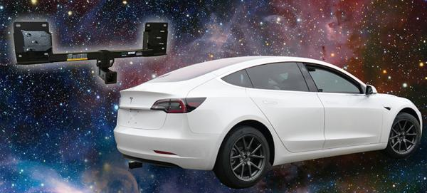 The Tesla Model 3 EcoHitch and Accessories are here to blast off!