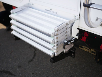 Don't suffer with terrible truck camper steps any longer!