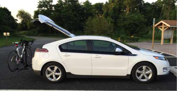 Installation overview of EcoHitch for 2013 Chevy Volt