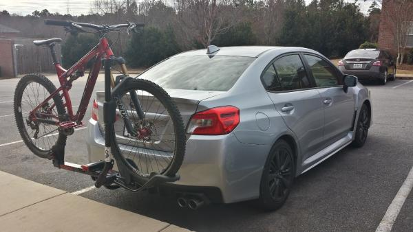 A Winning Combo: EcoHitch and the 2015 Subaru WRX