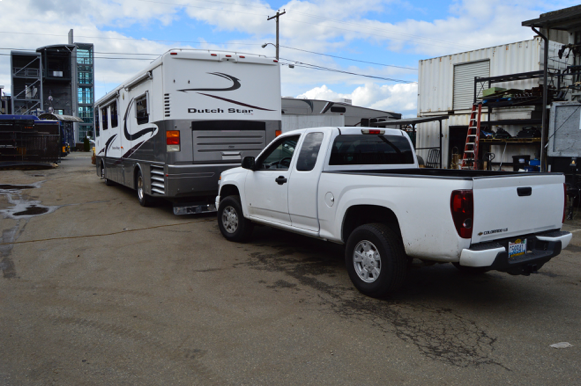 How to Tow Behind a Motorhome
