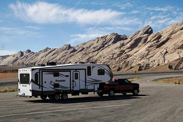 How to tow a 5th wheel trailer