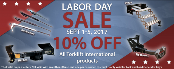 Don't Miss Out This Labor Day!