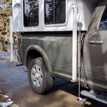 Upgrade your truck camper hold down system today!