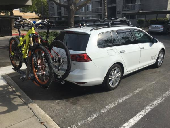 The EcoHitch is available for the 2017 VW Golf Alltrack!