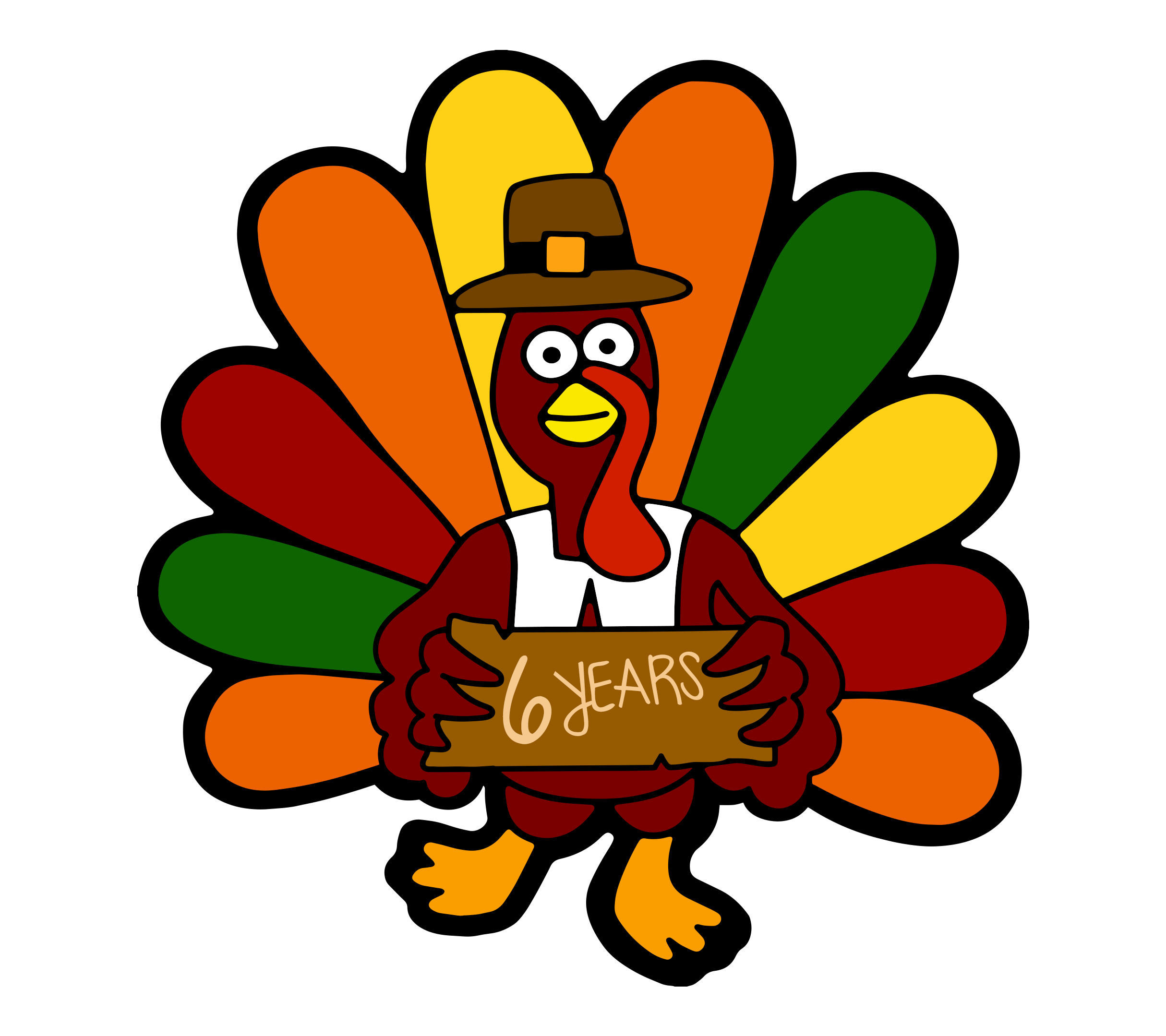 The 6th Annual Kent Turkey Challenge Logo