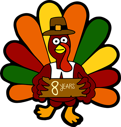 The 8th Annual Kent Turkey Challenge Logo