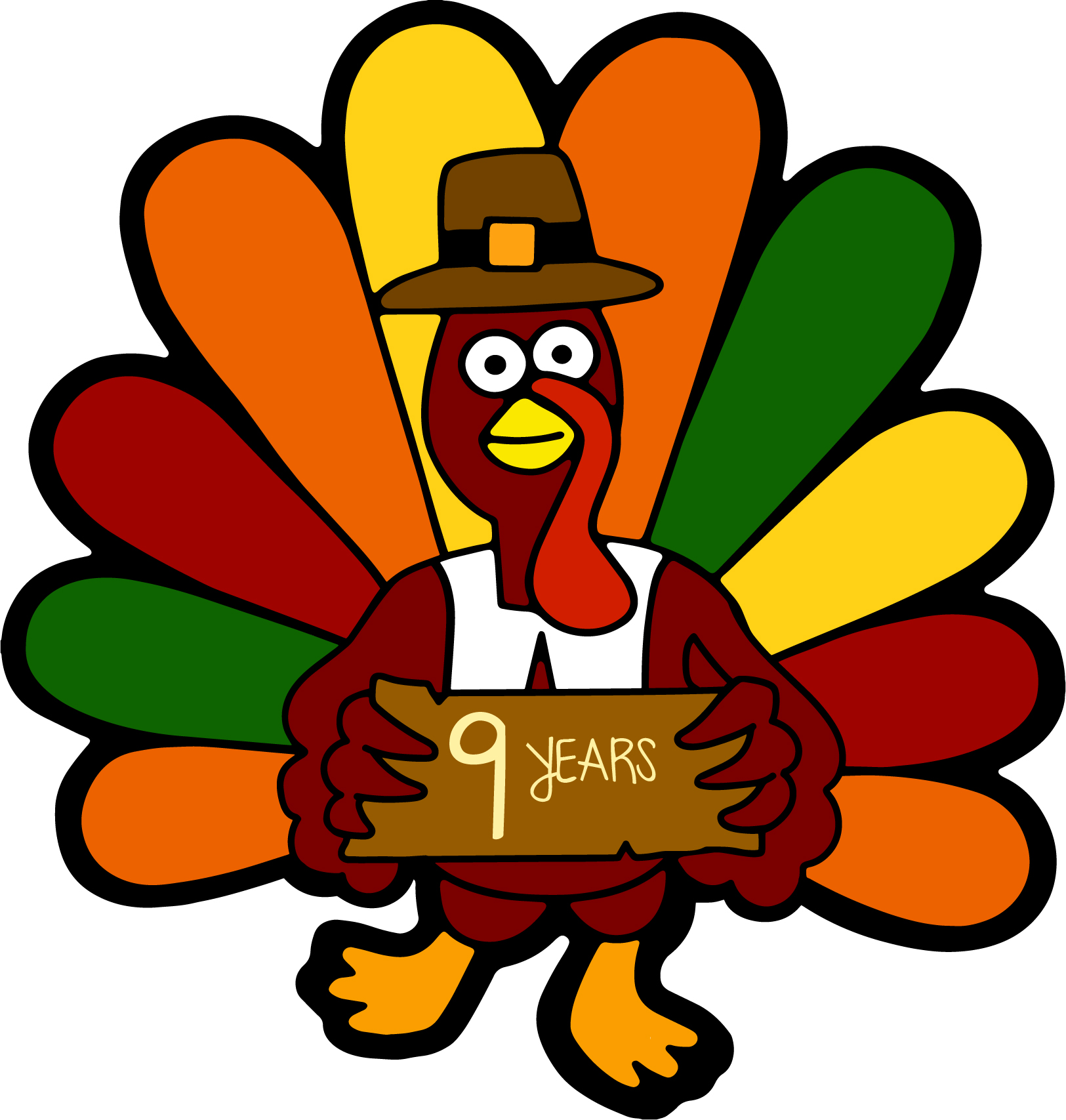 The 10th Annual Kent Turkey Challenge Logo